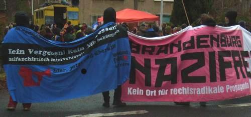 Kundgebung Biesenthal 17.12.2011